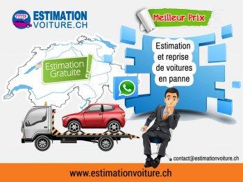 Estimation voiture en panne en Suisse