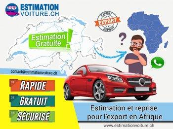 Estimation de voiture en Suisse pour l'export en Afrique